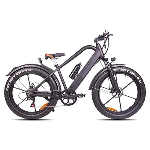 Ainy Electric Bike Fat Tire 20 4' with 48V 500W 15Ah Lithium-Ion Battery,City Mountain Bicycle...