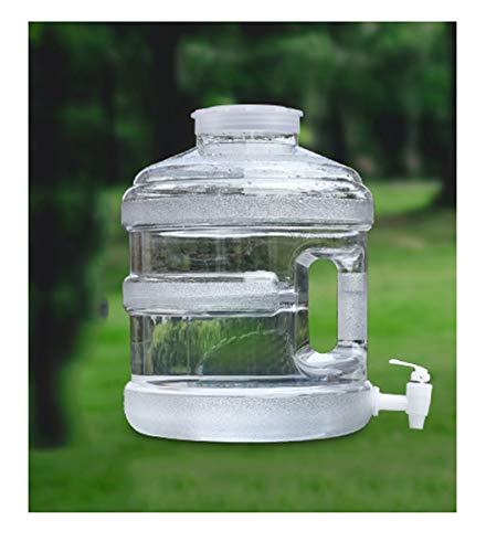 Depósito de Agua Bidón Plástico con Grifo Depósito De Agua con Mango...