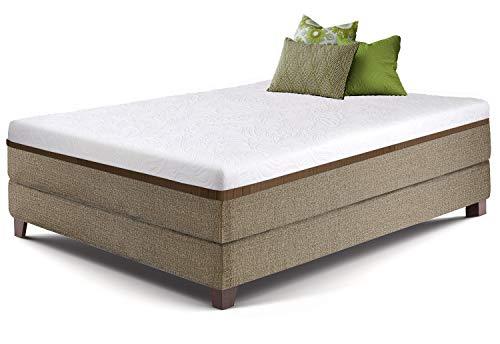 Live and Sleep Ultra 10 Inch Gel Memory Foam Mattress in A Box - Medium Balanced, Cool Bed in A Box,...