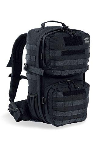 タスマニアンタイガー コンバットパック MK2 (メイン22L+2つのポーチ8L=計30L) (ブラック 7664.040) ・Tasmanian Tiger Combat Pack 【正規輸入代理店直売】
