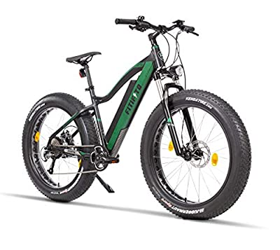 Fitifito FT26 Elektrofahrrad Fatbike E-Bike Pedelec, 48V 250W Bafang Cassette Heckmotor, 48V 13Ah 624W Samsung Akku, hydraulische Bremsen, Büchel Scheinwerfer