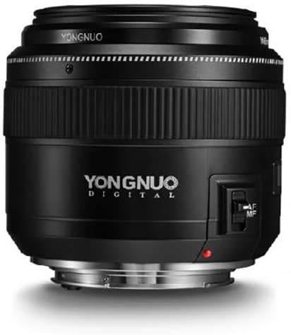 YONGNUO YN85 mm f1.8 AF/MF Standard Medio Teleobjetivo Prime Fijo Lente de cámara para...