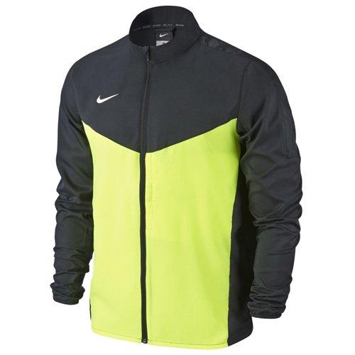 Nike Team Performance Shield Jkt Chaqueta, Hombre, Negro/Verde / Blanco (Black/Volt / White), XL