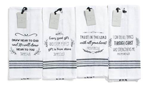 Top 10 Best Selling List for bible verse kitchen towels