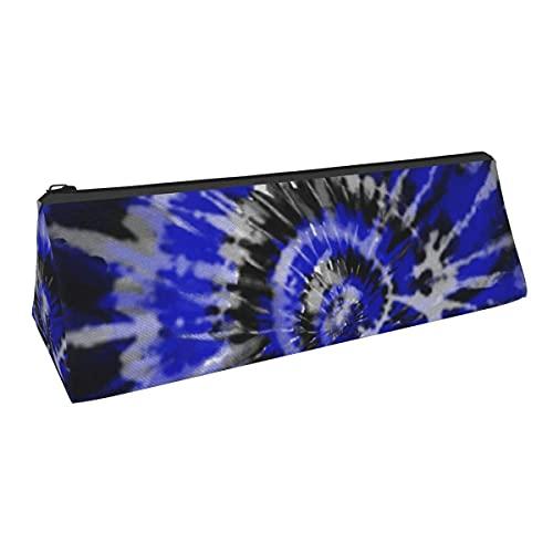 Bolsa de almacenamiento para bolígrafos de pequeña capacidad, color azul oscuro, para niños y niñas, escuela, oficina, alicates de papelería