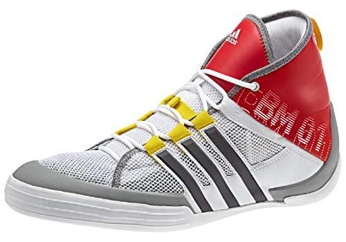 adidas adidas Damen Herren Sailing Bootsschuh BM01, Farbe:rot, Größe:7.5