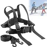 N/W Upgrade Kids Ski Shoulder Harness, Leash Ski Training Harness Skating, Snowboard, Roller Skating Training Harness, Adjustable Ski Shoulder Harness - Perfect for Kid Beginners Boy and Girl
