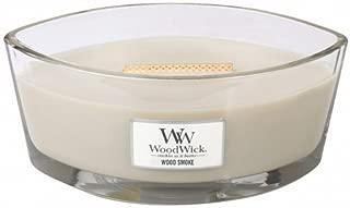 WoodWick Ellipse Scented Candle, Wood Smoke