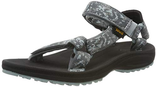 Teva Damen Winsted W's Riemchensandalen, Türkis (Bramble Dark Shadow 558), 41 EU