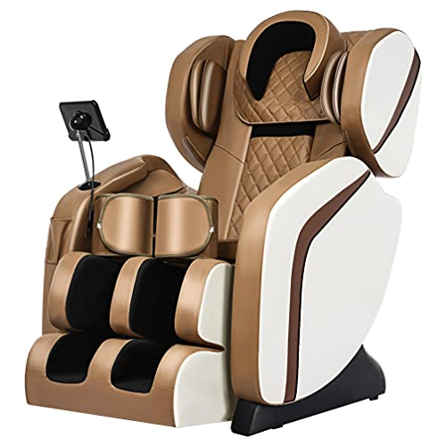 Massage Chair, Full Body Zero Gravity Shiatsu Recliner, Integrated Fullbody Air Bag Zero-Gravity 8D Electric Massage Chair Space Capsule