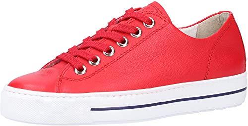 Paul Green 4704 Damen Sneakers Rot, EU 38,5