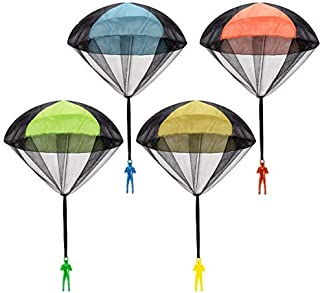 Parachute Toy, Tangle Free Throwing Toy Parachute, Outdoor Children's Flying Toys,..