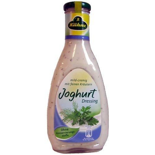Salatfix Joghurt-Kräuter Dressing (0,5 Liter Glasflasche)