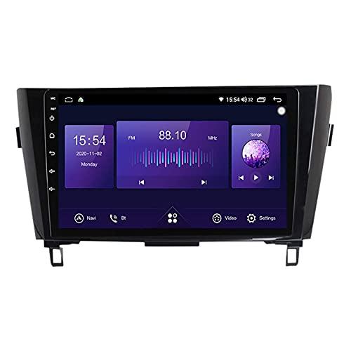 Navegación por satélite estéreo para automóvil Adecuado para Nissan X-Trail 2013-2016 Unidad principal estéreo GPS Capacitiva táctil HD Carplay Radio Multimedia Sistema de radio incorporado Rastreado