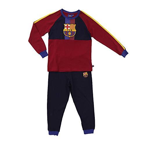 Pijama FC Barcelona niños Licencia Oficial Azul–Granate