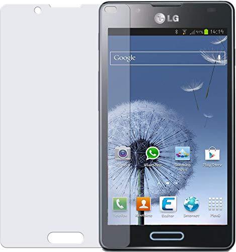 dipos I 2X Schutzfolie matt kompatibel mit LG Optimus L7 2 Folie Displayschutzfolie
