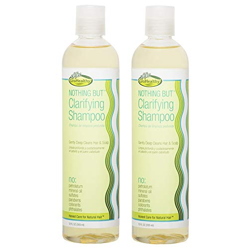 Nothing But Clarifying Shampoo Sulfate-Free Detox for Natural Hair 12oz 2-Pack