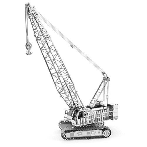 Fascinations Metal Earth MMS092 - 502457, Crawler Crane, constructiespeelgoed, 2 metalen platen, vanaf 14 jaar