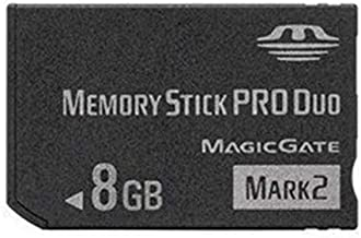 Memory Stick pro Duo mark2 (8GB) Camera Memory Card