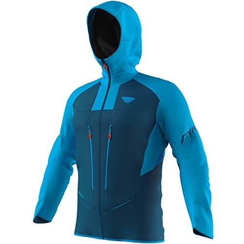 DYNAFIT M TLT Gore-Tex Jacket Colorblock-Blau, Herren Gore-Tex Windbreaker, Größe M - Farbe Frost