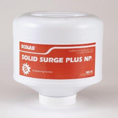 Ecolab 17905 Laundry Soap, Commercial-Grade Solid Surge Plus Laundry Detergent - 9 pound solid (4/cs)