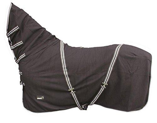 CATAGO Fleecedecke mit Halsteil - 145 cm - schwarz