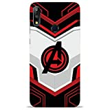 NDCOM® Avengers End Game Logo Printed Hard Plastic 3D Mobile Back Cover Case for Asus Zenfone Max Pro M2