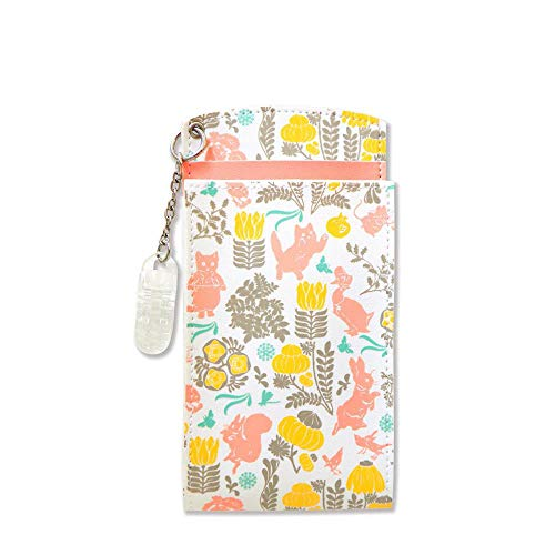 ピーターラビット 胸ポケット用ペンケース ボタニカル オレンジ 【ST-ZP0024】