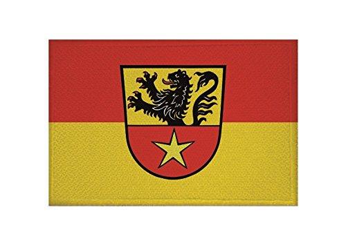 U24 Aufnäher Bad Münstereifel Fahne Flagge Aufbügler Patch 9 x 6 cm