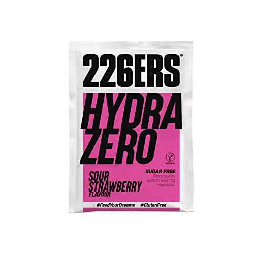 226ERS Hydrazero | Bebida de Sales Minerales en Polvo para Hidratación y Recuperación de Electrolitos, Fresa Sour - 1 unidad