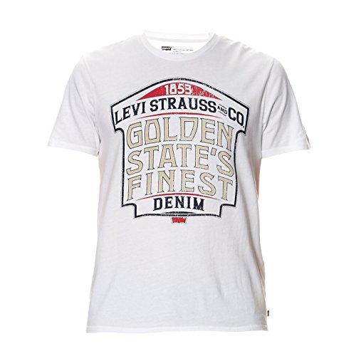 Levi's - T-shirt - T-shirt - Basic - Maniche corte - Uomo bianco X-Large
