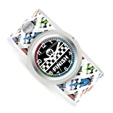 Watchitude Slap Watch, Finish Line - One Size, Boys and Girls, Plunge Proof, Removable Analog Face, Colorful and Inspiring, Interchangeable Silicone Bands, Fun and Inspiring Bracelet Watches