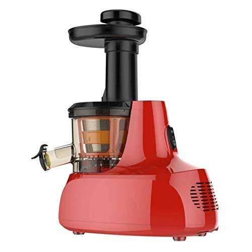 ECSWP Masticating Exprimidor Máquinas Cold Press Jugo Exprimidor Extractor Lento, silencioso del Motor, la función inversa for Frutas y hortalizas, de Alto Rendimiento, Libre de BPA con el Cepillo