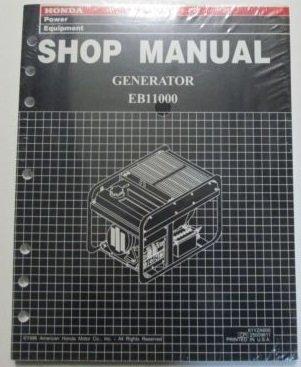 1997 Honda EB1100 Generator Service Repair Shop Manual Factory OEM Book New