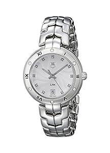 TAG Heuer Women's WAT1312.BA0956 Link Analog Display Swiss Quartz Silver Watch image