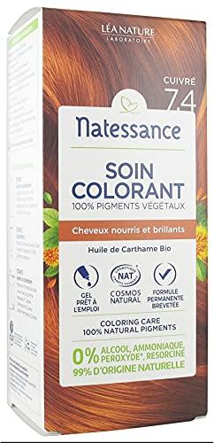 Natessance Soin Colorant 150 ml - Cuivré 7.4