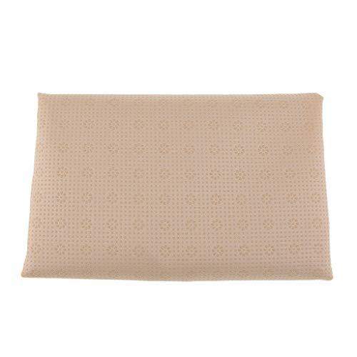 Colcolo Tejido de Gabardina Polivinílica de 1yd con Materiales de Costura Tratados con Goma Antideslizante 150D - Beige, Individual