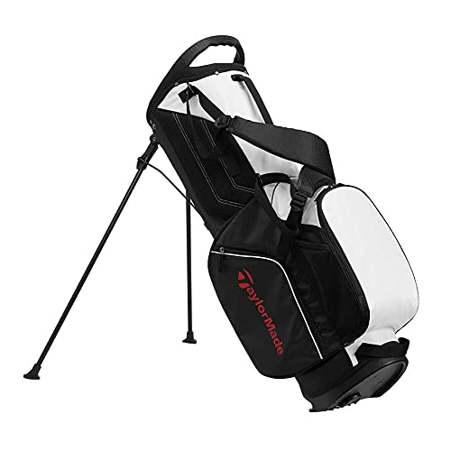 Product Image 4: TaylorMade 5.0 ST Bag, Black/White/Red