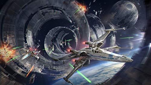 NOBRAND Puzzles Puzzle de 1000 Piezas para niños Adultos Juego de Rompecabezas Abstract Future Star Wars