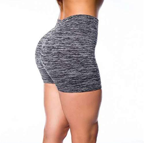 Review kaifongfu Women High Waist Leggings Yoga Short Pants Basic Slip Bike Shorts Compression Worko...