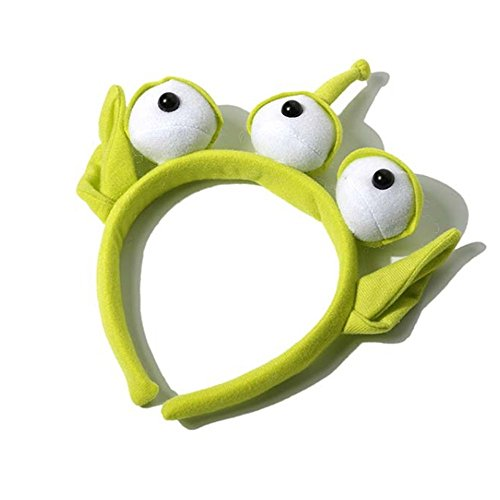 Novelty New Alien Ears Costume Plush Headband Adult Child Party Cosplay Gift 1Pcs