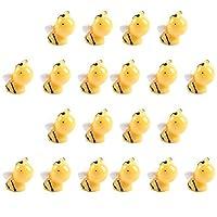 Yardwe 20ピースミニチュアガーデンオーナメントフェアリーガーデン動物蜂用ドールハウス植物ポット家の装飾