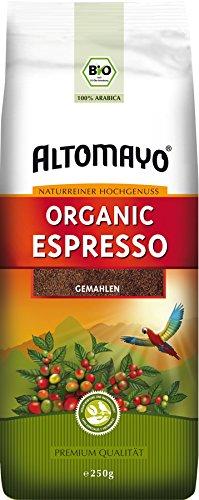 BIO Espresso gemahlen im Beutel, 250g
