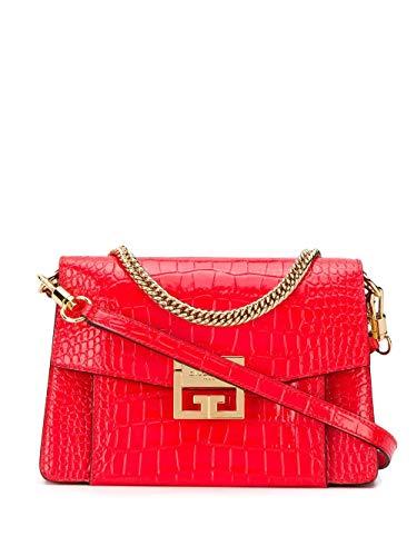 Luxury Fashion | Givenchy Dames BB501CB0SS600 Rood Leer Schoudertassen | Lente-zomer 20