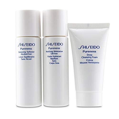 Shiseido Pureness Simple Start For Oil-Control Set: Deep Cleansing Foam +...