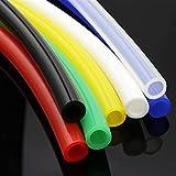 Zmaoyun-PVC Mangueras de conducto ID de tubo de silicona flexible colorido 10mm x 12 mm SOBREDOSIS Conector de tubería suave de la manguera de goma no tóxica de grado alimenticio, Resistente al desgas