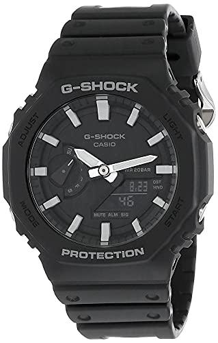 Relógio De Pulso Anadigi Ga-2100-1adr - G-shock Preto