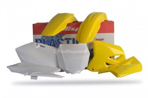 RM 125/25001–12Polisport de plástico Kit Amarillo de Motocross
