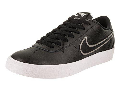 Nike Herren SB Bruin Zoom PRM SE Skateboardschuhe, Mehrfarbig (Schwarz/MTLC/Pewter 001), 40 EU