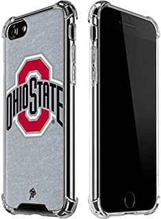 Skinit Clear Phone Case for iPhone 8 - Officially Licensed Ohio State University OSU Ohio State Logo Design